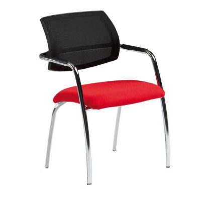 Sillón confidente apilable respaldo red SP-40R