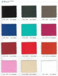 Colores Sillas de Oficina, Grupo 2/3