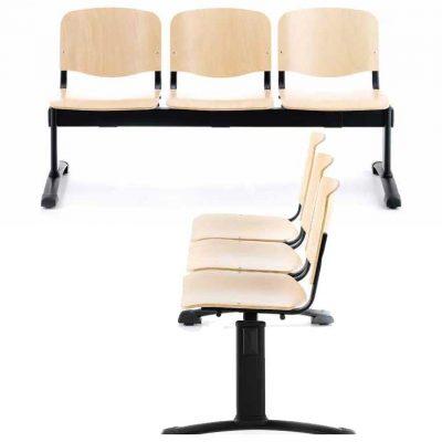 Bancada sala de conferencias y de espera B-SRM