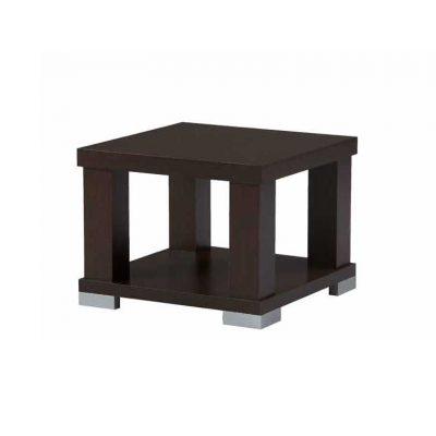 Mesa rincón cuadrada con revistero MMCR