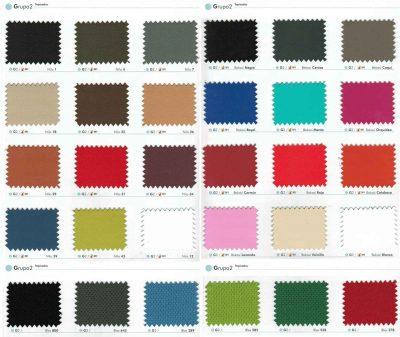 Colores Sillas de Oficina, Grupo 2